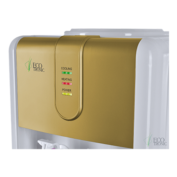Кулер для воды со шкафчиком Ecotronic H3-LCE Gold